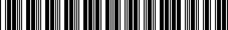 Barcode for 000051103A