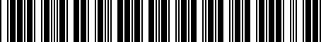 Barcode for 8N8051229C