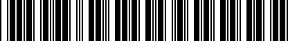 Barcode for 8P0051444
