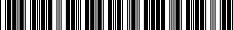 Barcode for 8S0051435C