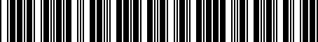 Barcode for 8S0051435H