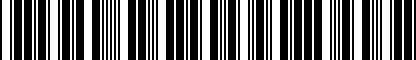 Barcode for 8W0051435